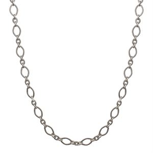 Picture of Alternating Textured Link Silver